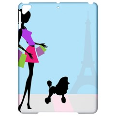 Woman Girl Lady Female Young Apple Ipad Pro 9 7   Hardshell Case