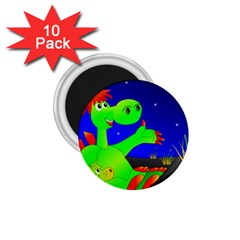 Dragon Grisu Mythical Creatures 1 75  Magnets (10 Pack)  by Nexatart