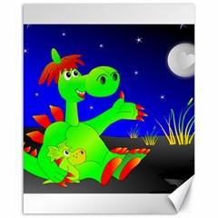 Dragon Grisu Mythical Creatures Canvas 16  X 20