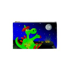Dragon Grisu Mythical Creatures Cosmetic Bag (small)  by Nexatart