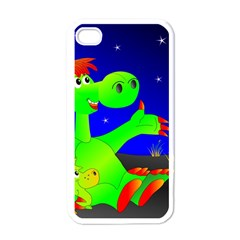 Dragon Grisu Mythical Creatures Apple Iphone 4 Case (white)