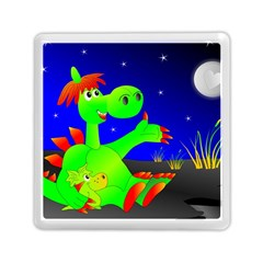 Dragon Grisu Mythical Creatures Memory Card Reader (square)