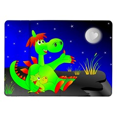 Dragon Grisu Mythical Creatures Samsung Galaxy Tab 10 1  P7500 Flip Case