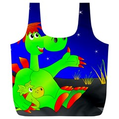 Dragon Grisu Mythical Creatures Full Print Recycle Bags (l)