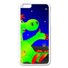 Dragon Grisu Mythical Creatures Apple Iphone 6 Plus/6s Plus Enamel White Case