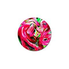 Flamingo   Child Of Dawn 5 Golf Ball Marker by bestdesignintheworld
