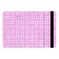 Woven1 White Marble & Pink Colored Pencil Apple Ipad Pro 10 5   Flip Case by trendistuff