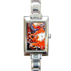 Smashed Butterfly 2 Rectangle Italian Charm Watch by bestdesignintheworld