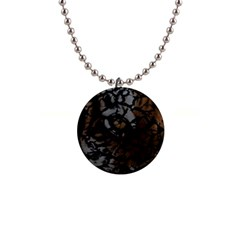 Earth Texture Tiger Shades Button Necklaces