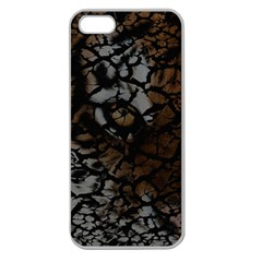 Earth Texture Tiger Shades Apple Seamless Iphone 5 Case (clear)