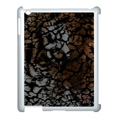 Earth Texture Tiger Shades Apple Ipad 3/4 Case (white)