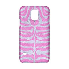 Skin2 White Marble & Pink Colored Pencil Samsung Galaxy S5 Hardshell Case