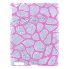 Skin1 White Marble & Pink Colored Pencil Apple Ipad 3/4 Hardshell Case by trendistuff