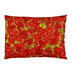 Strawberry Pillow Case by eyeconart