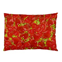 Strawberry Pillow Case (two Sides) by eyeconart