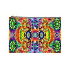 Artwork By Patrick Colorful 47 Cosmetic Bag (large)