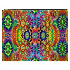 Artwork By Patrick Colorful 47 Cosmetic Bag (xxxl)