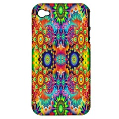Artwork By Patrick Colorful 47 Apple Iphone 4/4s Hardshell Case (pc+silicone)