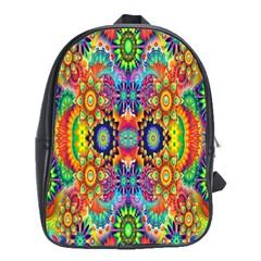 Artwork By Patrick Colorful 47 School Bag (xl)