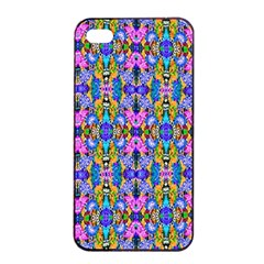 Artwork By Patrick Colorful 48 Apple Iphone 4/4s Seamless Case (black)