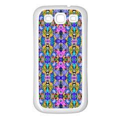 Artwork By Patrick Colorful 48 Samsung Galaxy S3 Back Case (white)