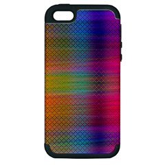 Colorful Sheet Apple Iphone 5 Hardshell Case (pc+silicone)