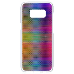 Colorful Sheet Samsung Galaxy S8 White Seamless Case