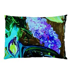 Lilac And Lillies 1 Pillow Case (two Sides) by bestdesignintheworld