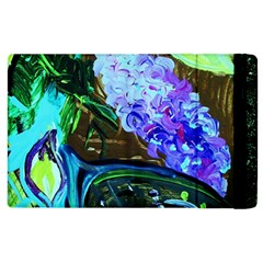Lilac And Lillies 1 Apple Ipad 2 Flip Case by bestdesignintheworld