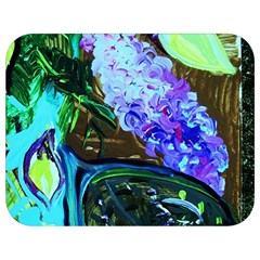 Lilac And Lillies 1 Full Print Lunch Bag by bestdesignintheworld