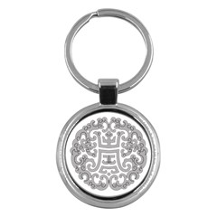 Chinese Traditional Pattern Key Chains (round)