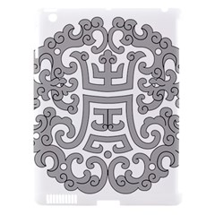 Chinese Traditional Pattern Apple Ipad 3/4 Hardshell Case (compatible With Smart Cover)