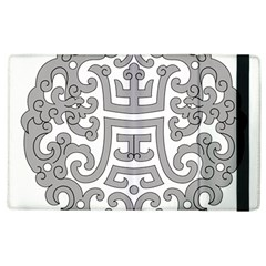 Chinese Traditional Pattern Apple Ipad 3/4 Flip Case