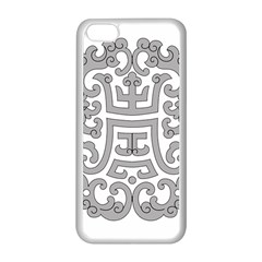 Chinese Traditional Pattern Apple Iphone 5c Seamless Case (white)