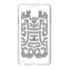 Chinese Traditional Pattern Samsung Galaxy Note 3 N9005 Case (white)