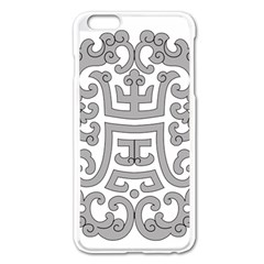 Chinese Traditional Pattern Apple Iphone 6 Plus/6s Plus Enamel White Case