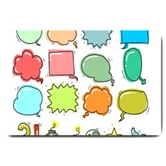Set Collection Balloon Image Large Doormat