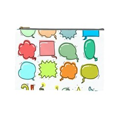 Set Collection Balloon Image Cosmetic Bag (large)
