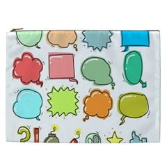 Set Collection Balloon Image Cosmetic Bag (xxl)