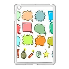 Set Collection Balloon Image Apple Ipad Mini Case (white)