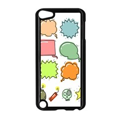 Set Collection Balloon Image Apple Ipod Touch 5 Case (black)