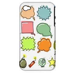 Set Collection Balloon Image Apple Iphone 4/4s Hardshell Case (pc+silicone)