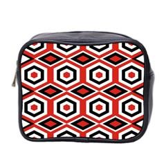 Motif Batik Design Decorative Mini Toiletries Bag 2 Side