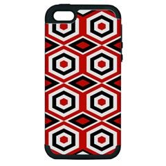 Motif Batik Design Decorative Apple Iphone 5 Hardshell Case (pc+silicone)