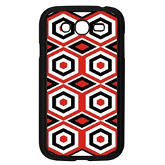 Motif Batik Design Decorative Samsung Galaxy Grand Duos I9082 Case (black)