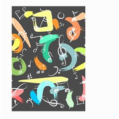 Repetition Seamless Child Sketch Large Garden Flag (two Sides)