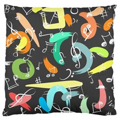 Repetition Seamless Child Sketch Large Cushion Case (two Sides)