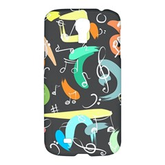 Repetition Seamless Child Sketch Samsung Galaxy S4 I9500/i9505 Hardshell Case