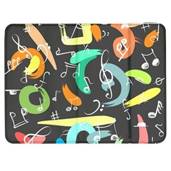Repetition Seamless Child Sketch Samsung Galaxy Tab 7  P1000 Flip Case