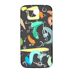 Repetition Seamless Child Sketch Samsung Galaxy S4 I9500/i9505  Hardshell Back Case